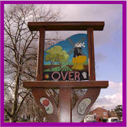 Over Village Sign on the Green